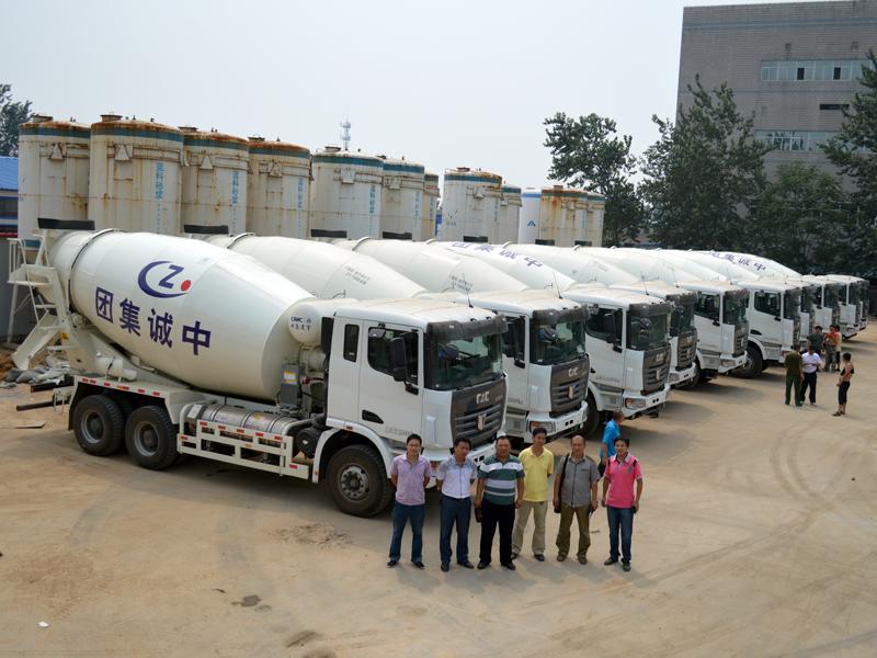 中集凌宇汽车有限公司早在2010年就和主机厂联合开发lng搅拌车产品