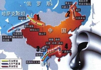 中俄朝三国界处地图